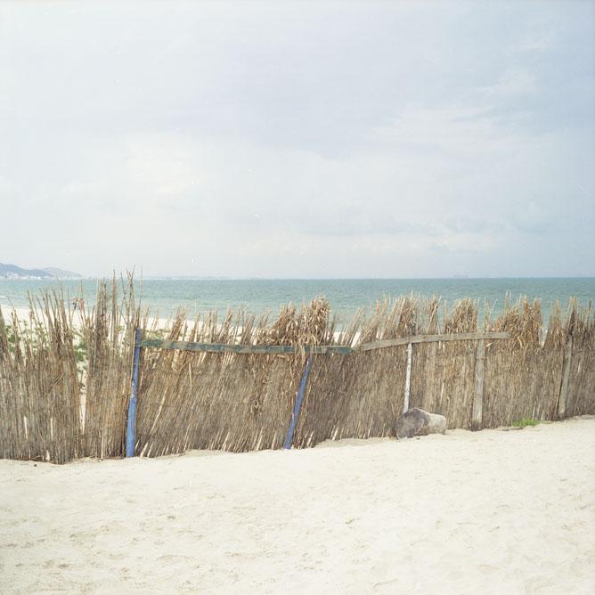 Ogrodzona plaża